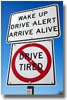 Drive Tired Sign Edit