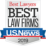 Best Lawyers - Best Law Firms 2019 Badge