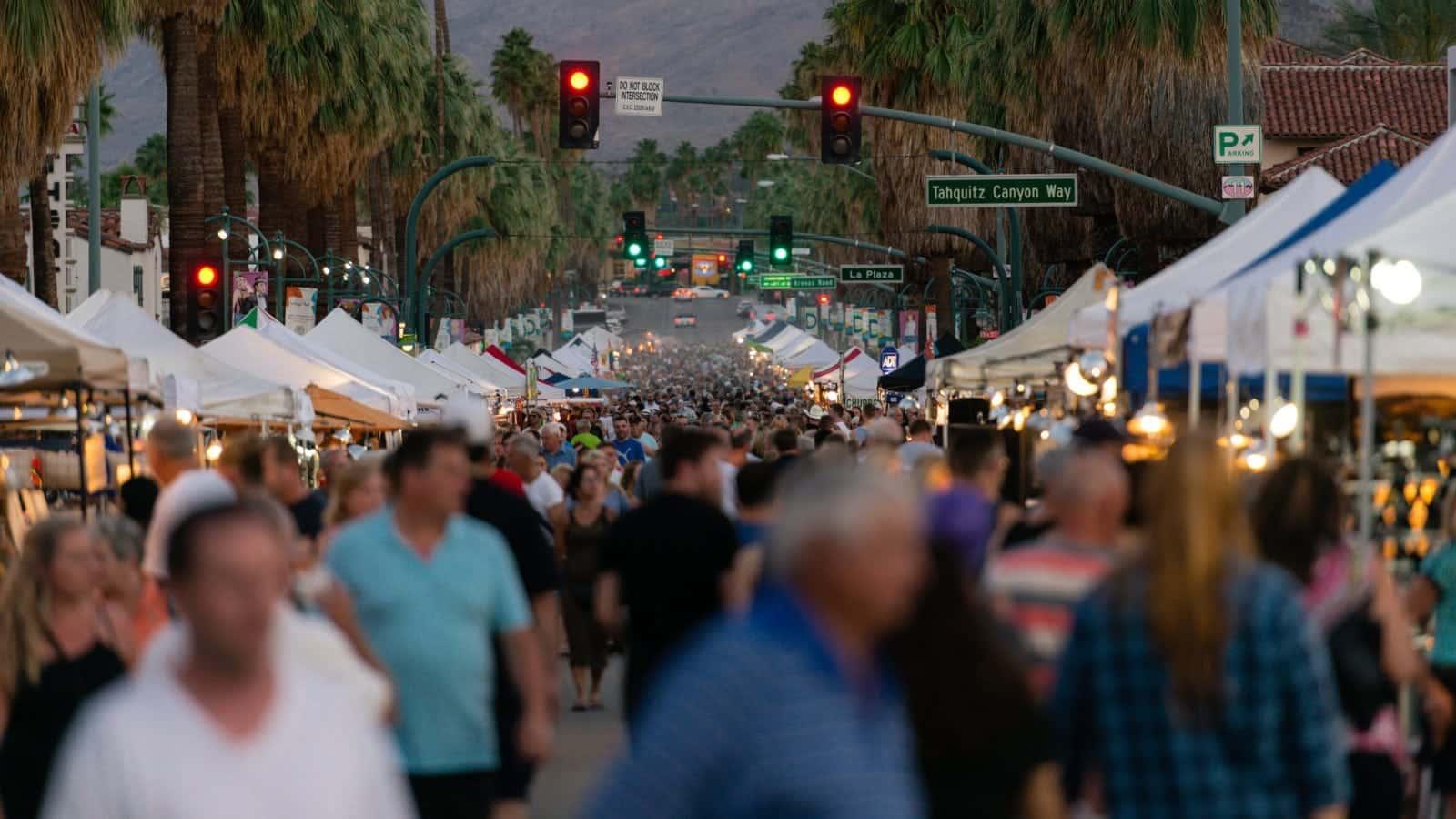 Street Festival Stock Photo