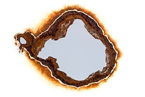 Rust Spot Stock Photo