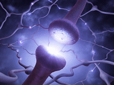 SSRI Neuron Network Stock Photo