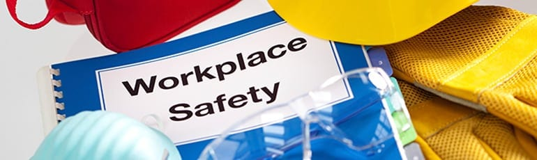 Workplace Safety Manual Stock Photo