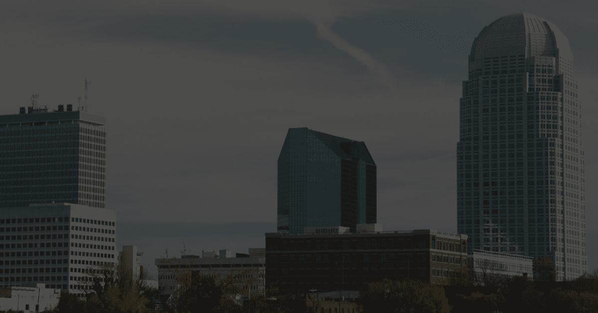 Winston Salem skyline