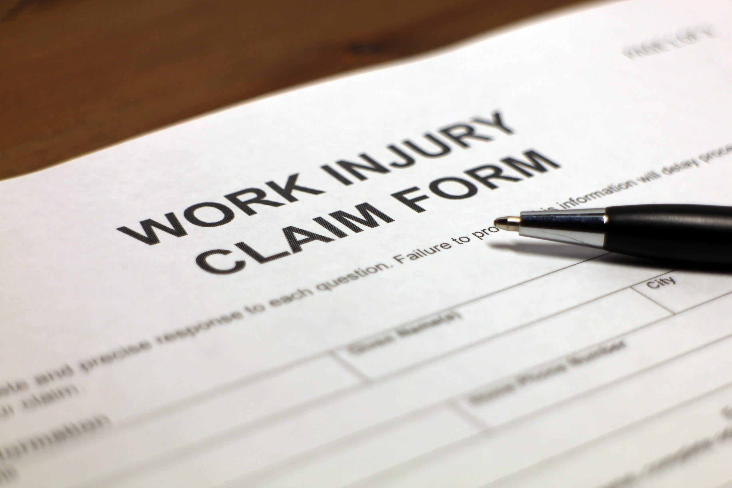 worker filing a workers' comp claim