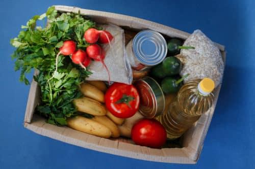 Second Harvest food donation box